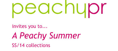 Peachy Summer Press Day – SS2014