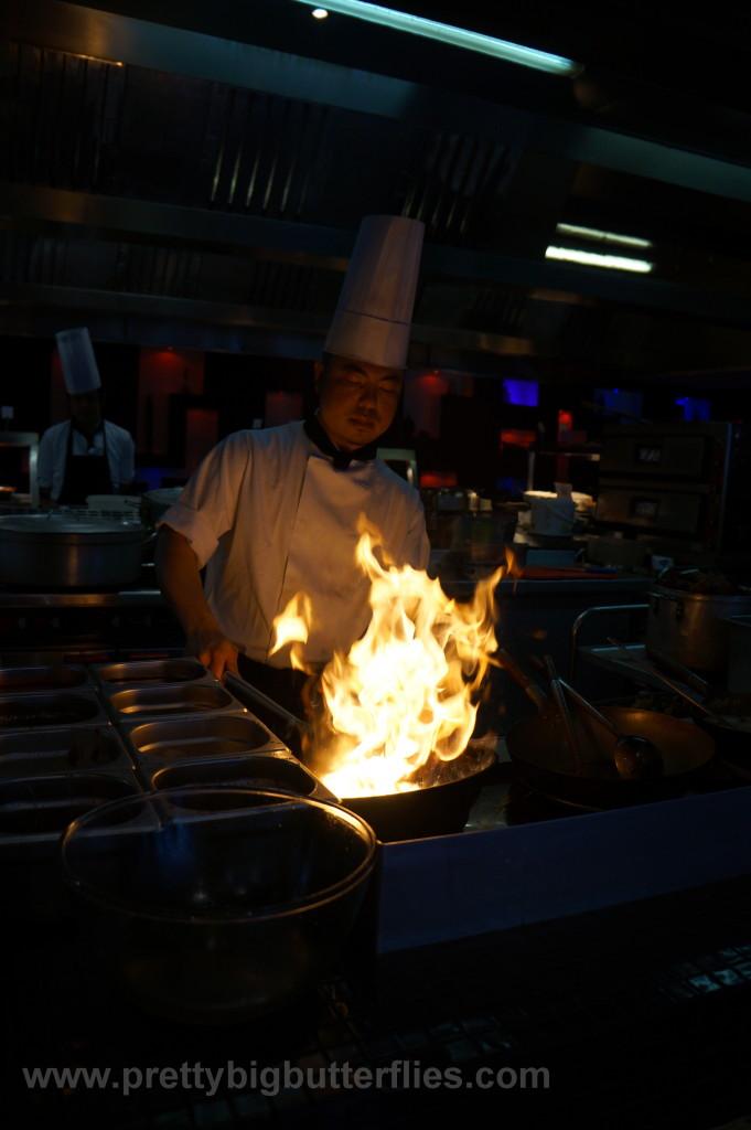 Kitchen N1 wok station