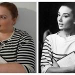 Audrey Hepburn Breton Stripe