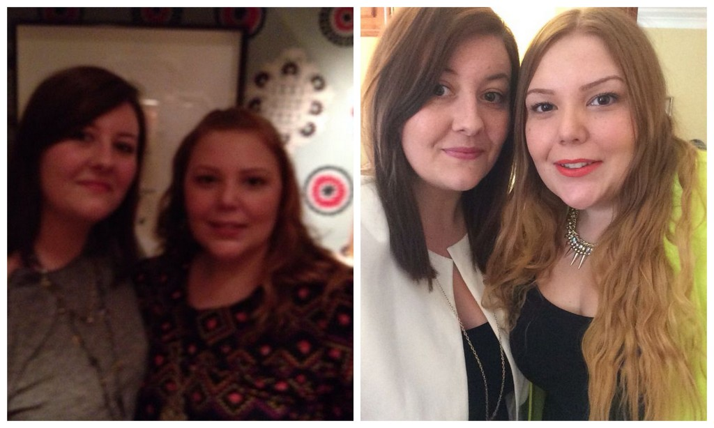 What a difference a year makes... Thanks Nicole! :)
