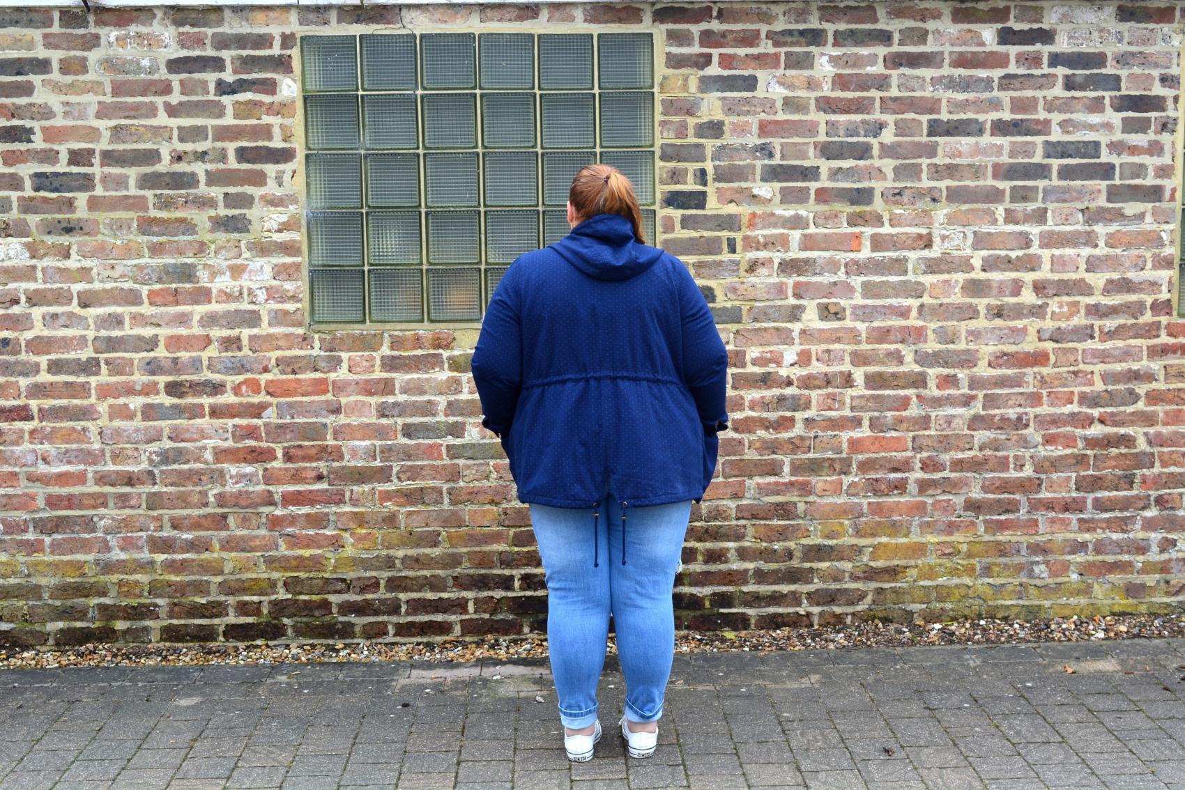 Plus Size Parka coat