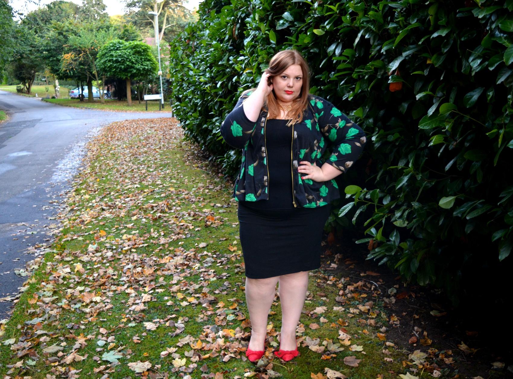 Plus Size Blogger - Pretty big Butterflies