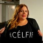 Plus Size Celfie T Shirt - Pretty Big Butterflies - Yours clothing