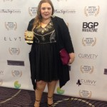 Plus Size Awards - Pretty Big Butterflies Hollie - winner