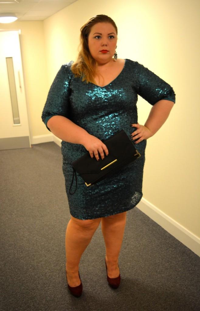 Claire Richards Sequin Dress