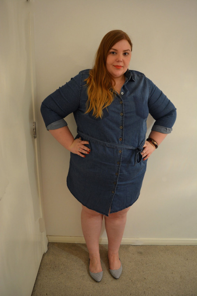 Curvissa Denim Dress