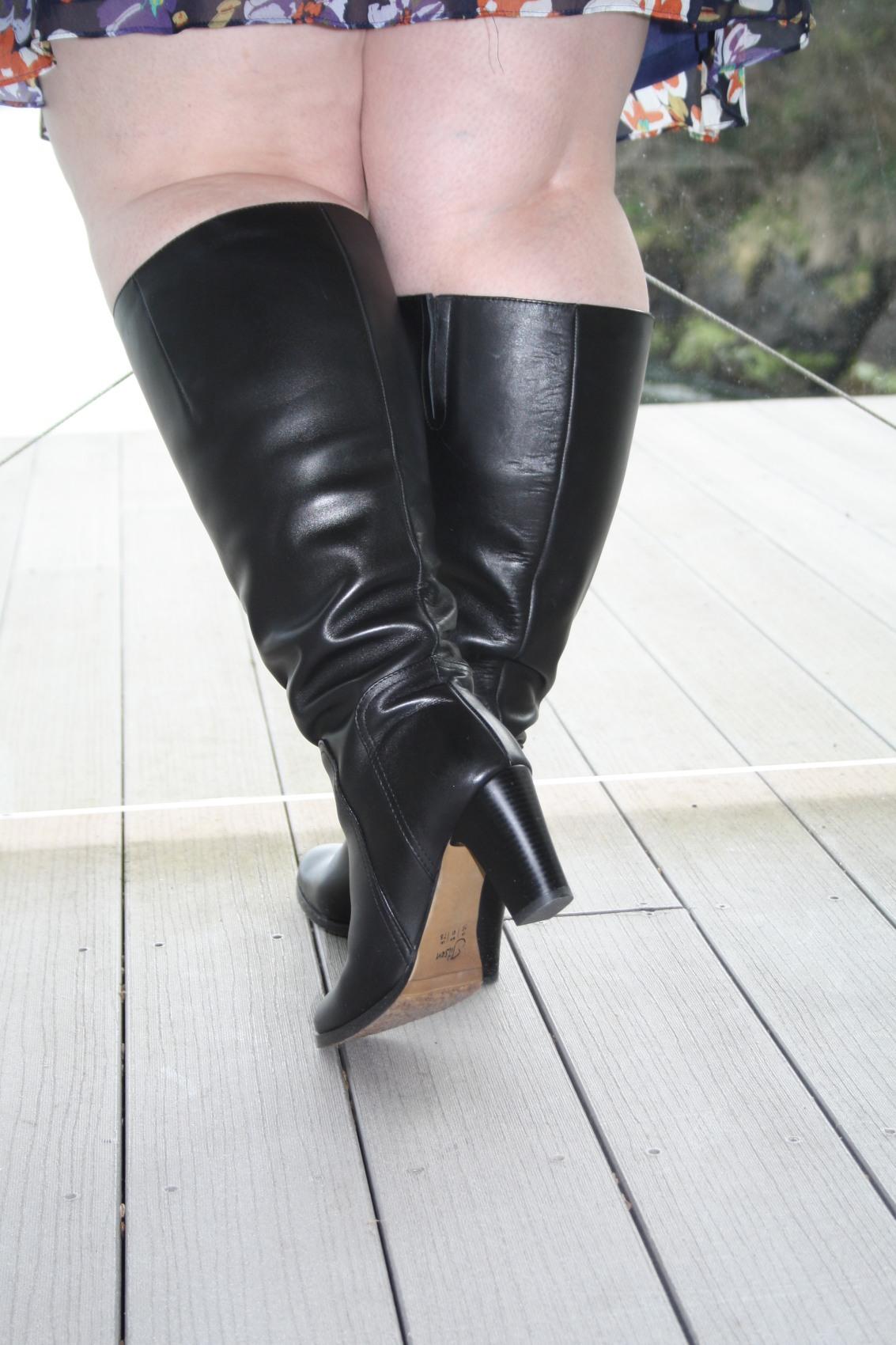 Bbw with high heels