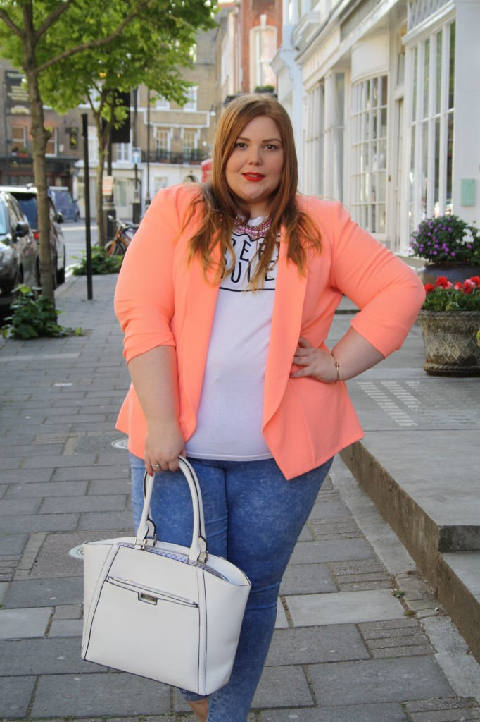 Plus size blogger - Fatshion - summer outfit