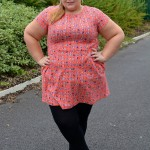 Pretty Big Butterflies - Plus size NEXT Dress Review