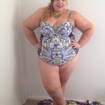 Pretty Big Butterflies - Plus Size Swimwear