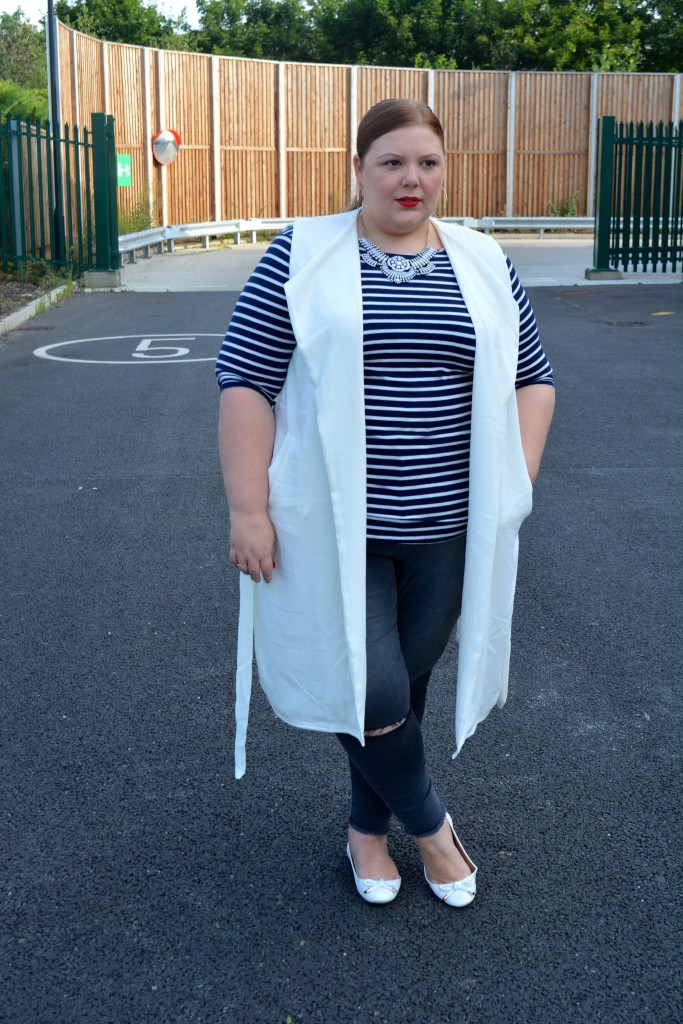 Pretty Big Butterflies - plus Size Outfit Review