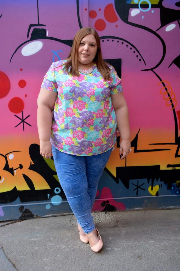 Pretty Big Butterflies - Plus Size blogger - Hoxton