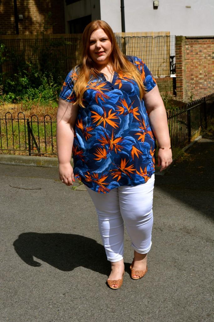Pretty Big Butterflies - Summer outfit review