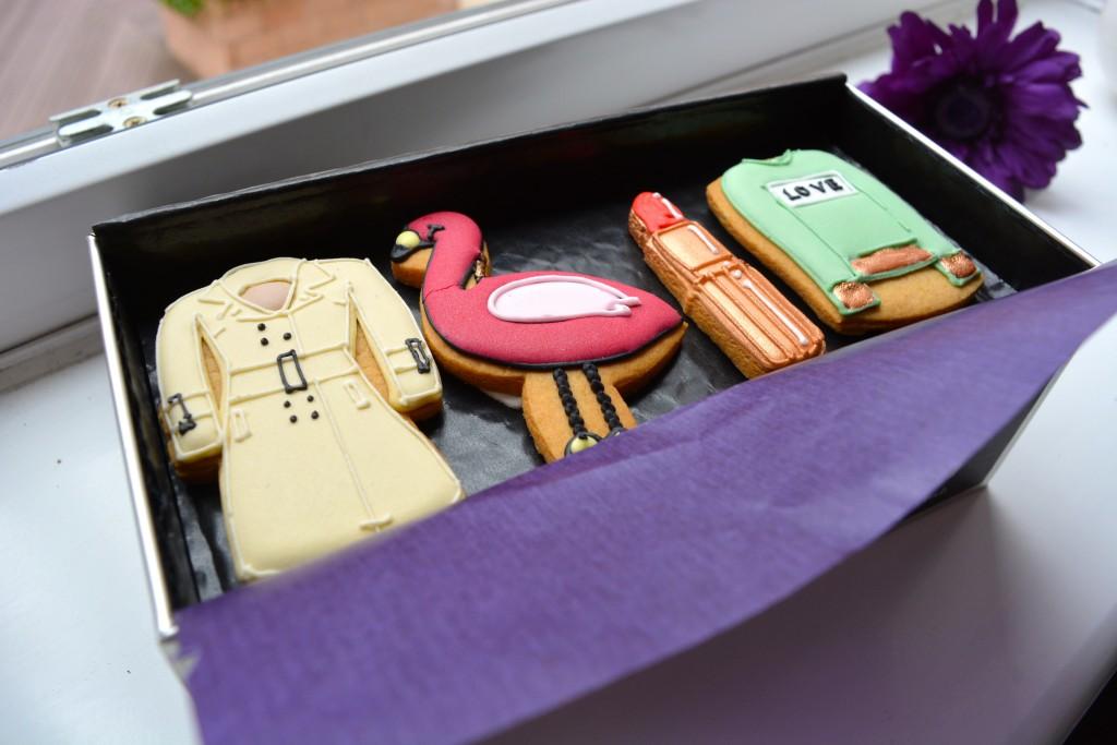 Biscuiteers Fashionista Box - Pretty Big Butterflies