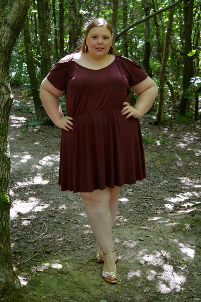 Pretty Big Butterflies - Simply Be Dress