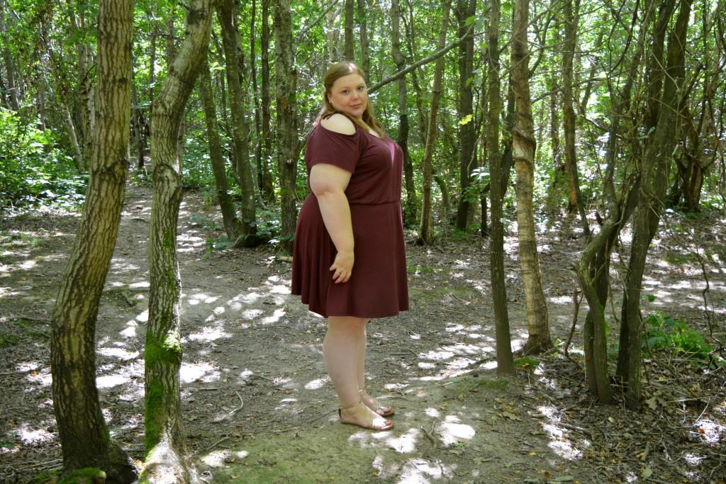 Pretty Big Butterflies  - Plus Size Blogger Outfit Review