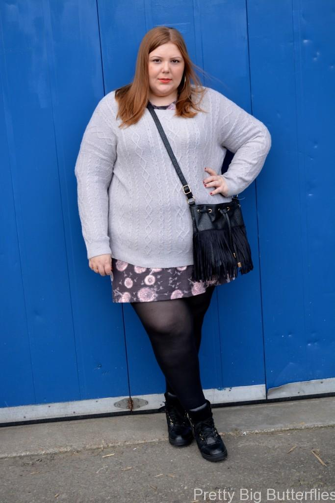 Pretty Big Butterflies - how to layer when you're plus size