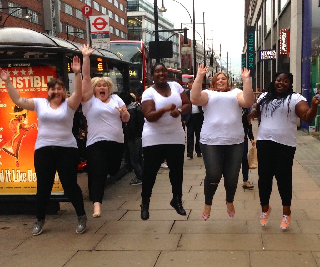 Plus size bloggers - oxford street