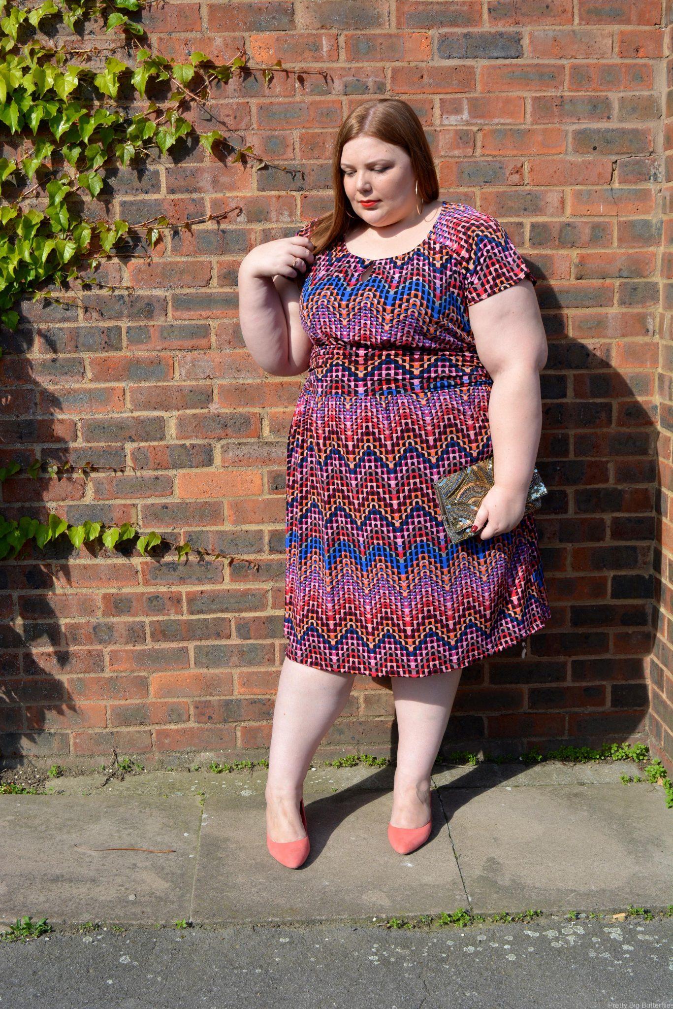 pretty big butterflies - Evening dress review