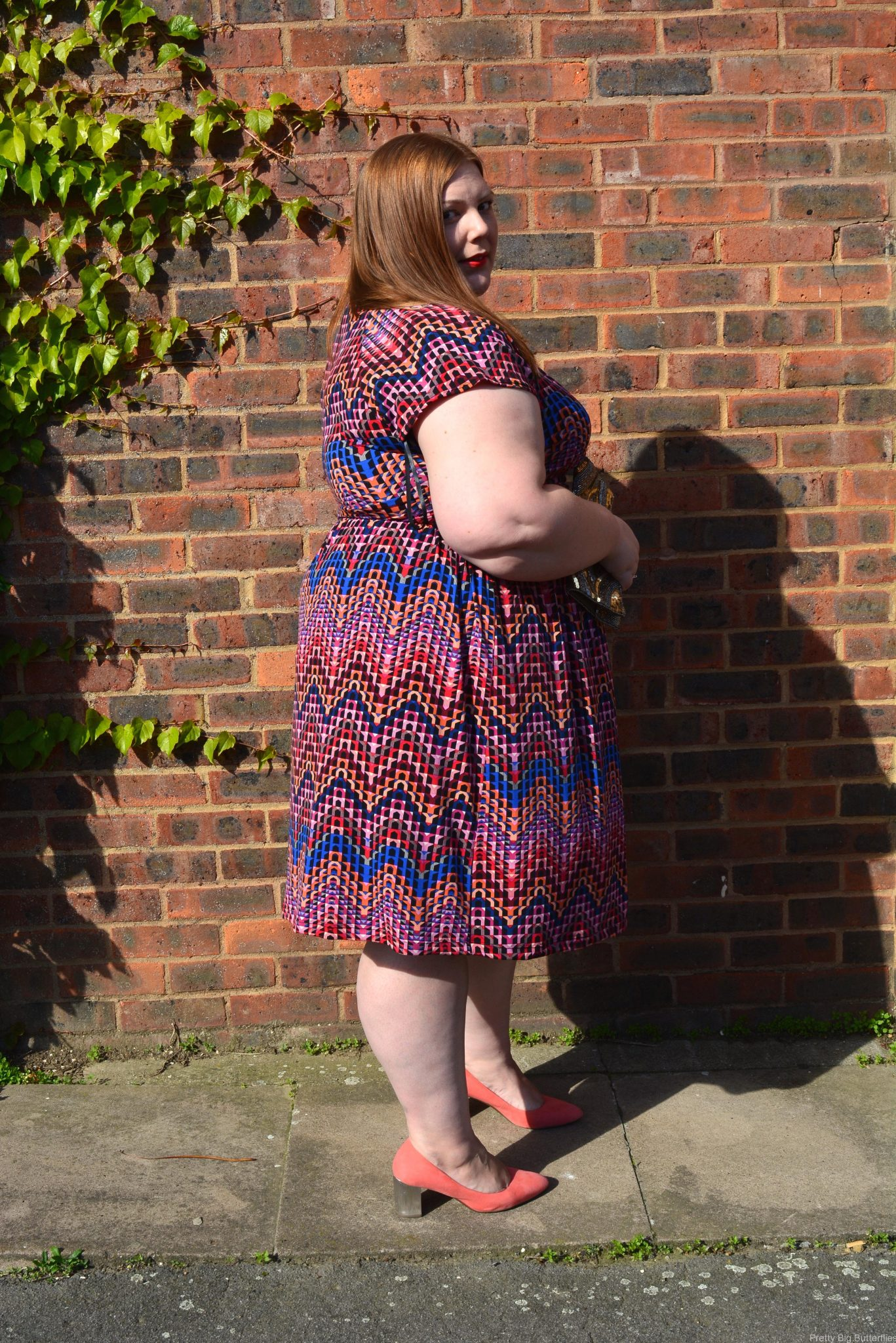 pretty big butterflies - Curvety Dresses