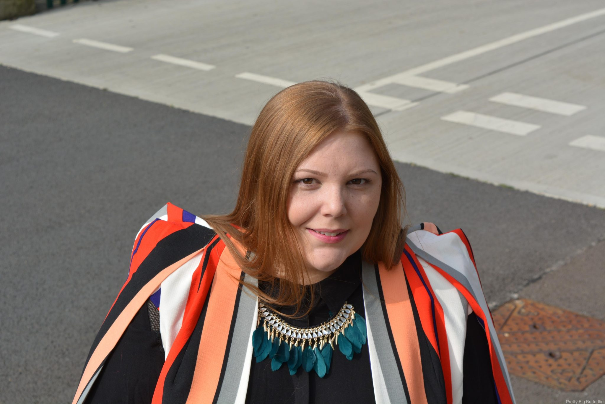 pretty big butterflies - Cape Blazer Review - lavish  Alice at Simply Be