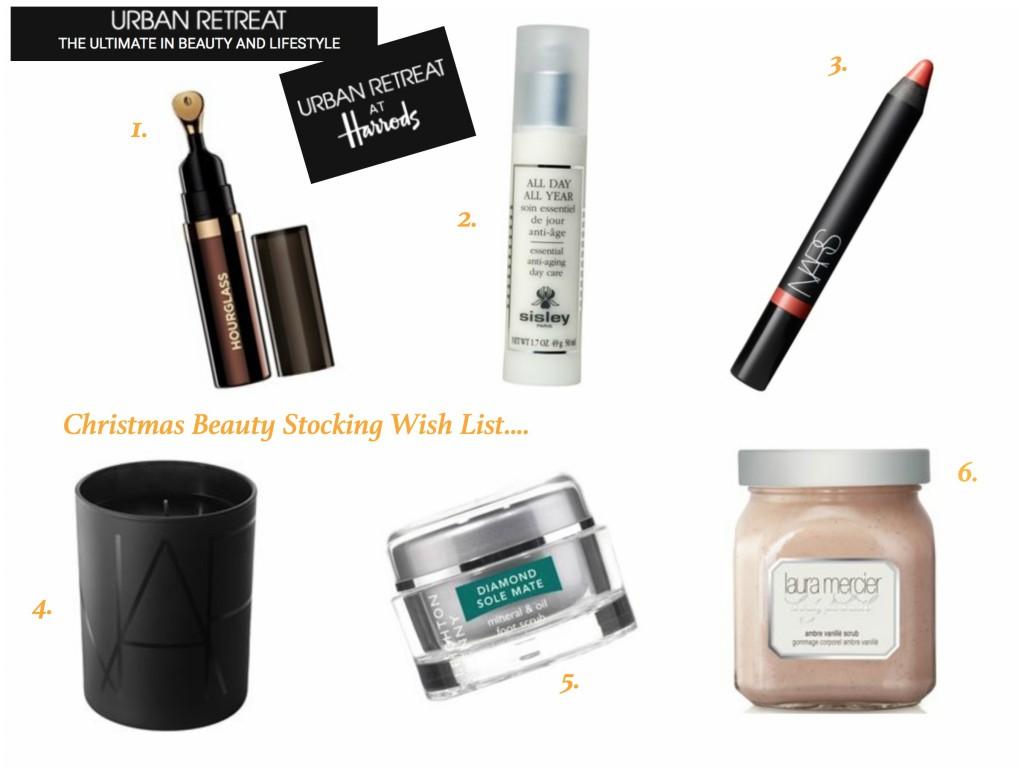 Urban Retreat - Beauty stocking wish list