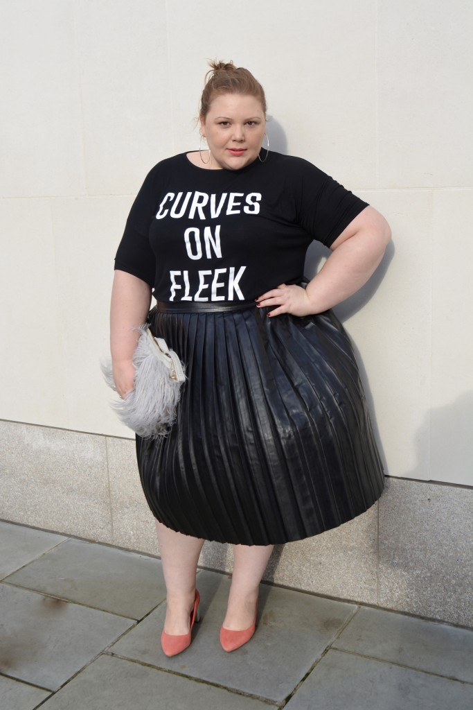 Plus Size blogger - slogan T Shirt