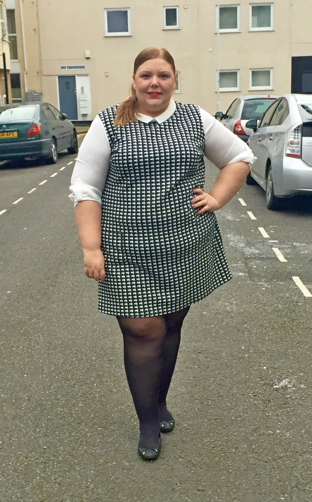 Dorothy Perkins Curve - Pretty Big Butterflies - Plus Size Work Wear