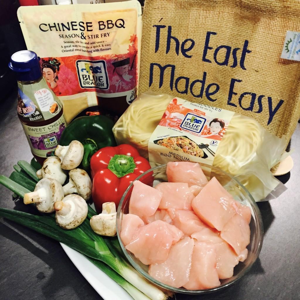 Blue Dragon Chinese BBQ Stir fry recipe