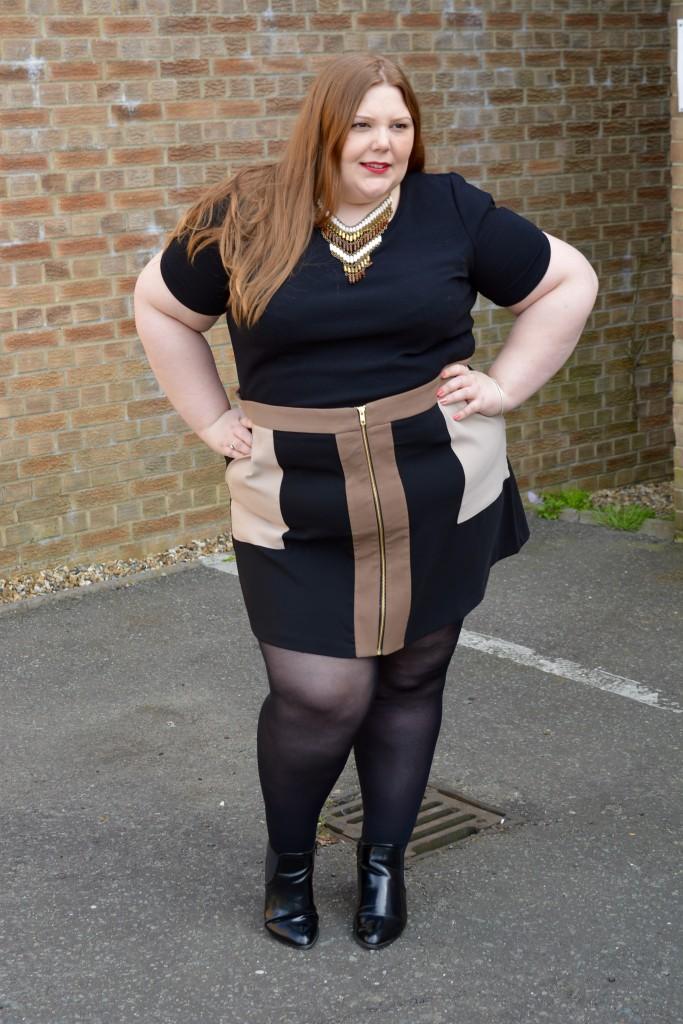 plus size work wear - Pretty Big Butterflies - blogger