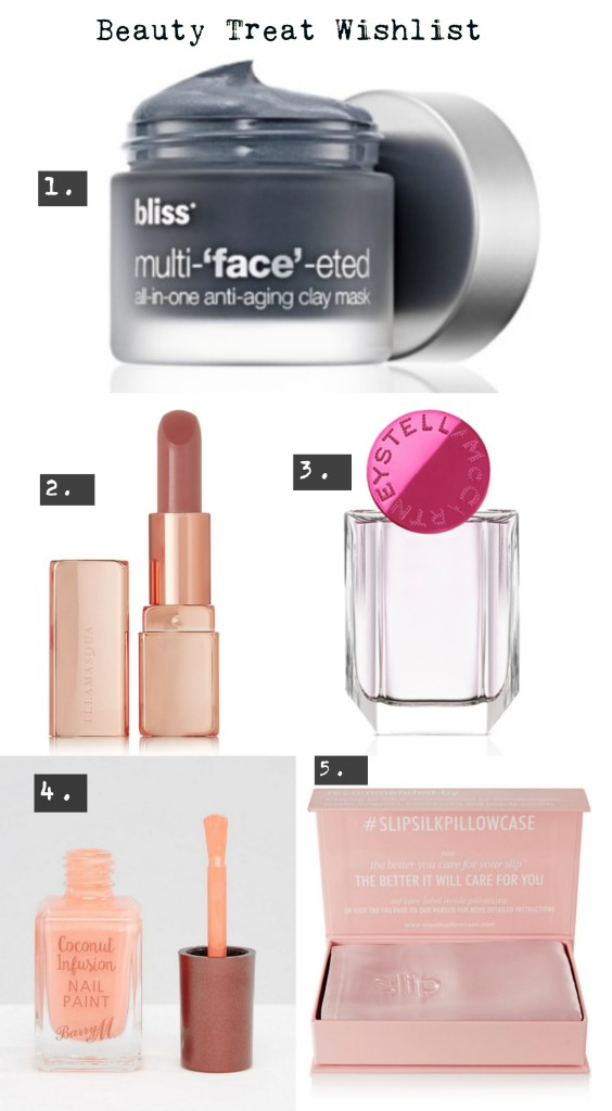 Beauty Treats Wishlist