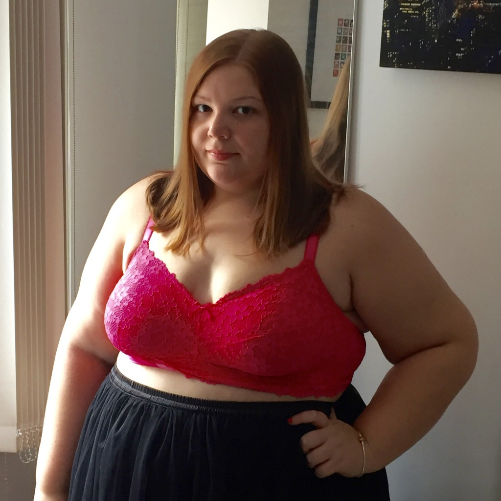 Simply Be Lingerie Review - Pretty Big Butterflies