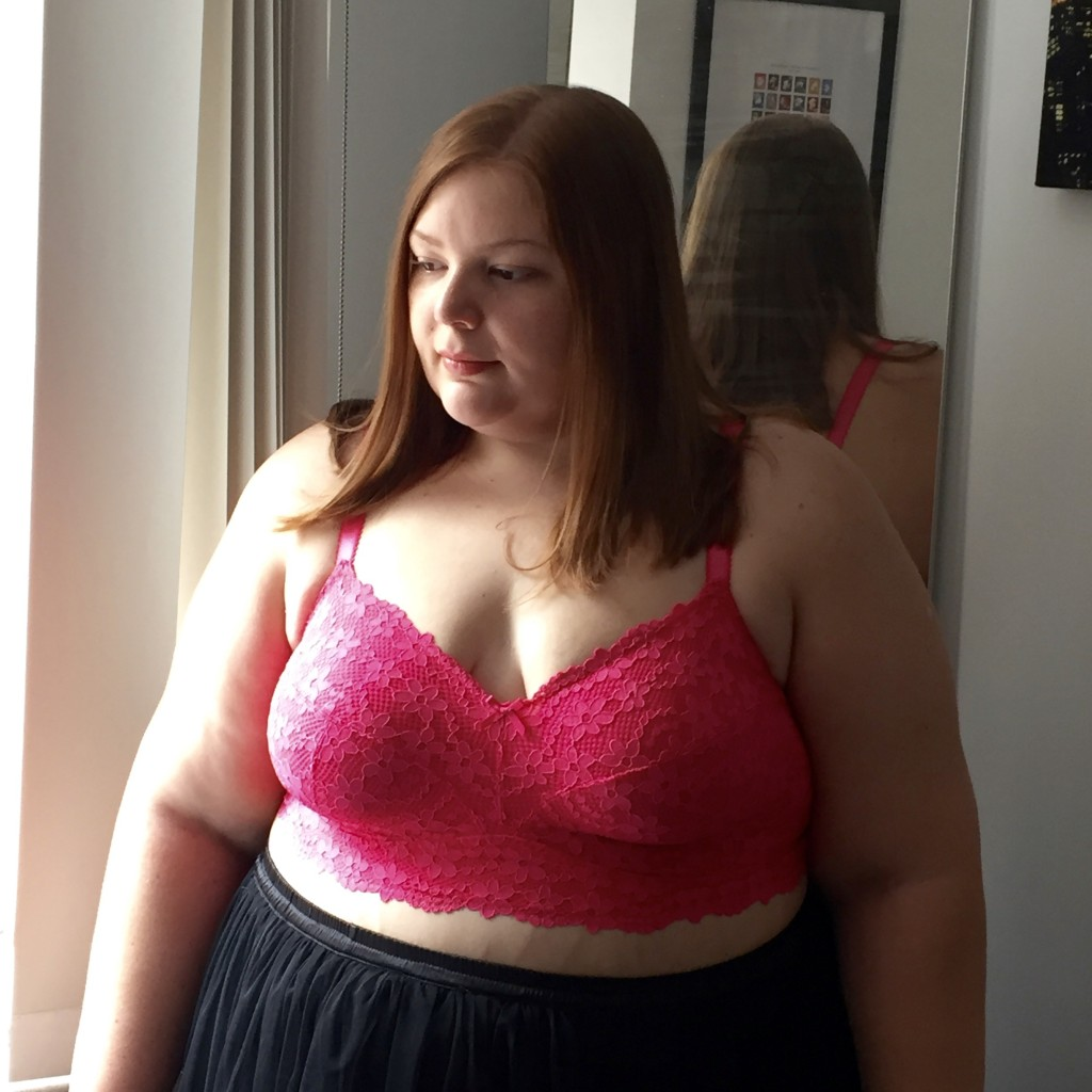 Pretty Big Butterflies - Plus size bra letter review