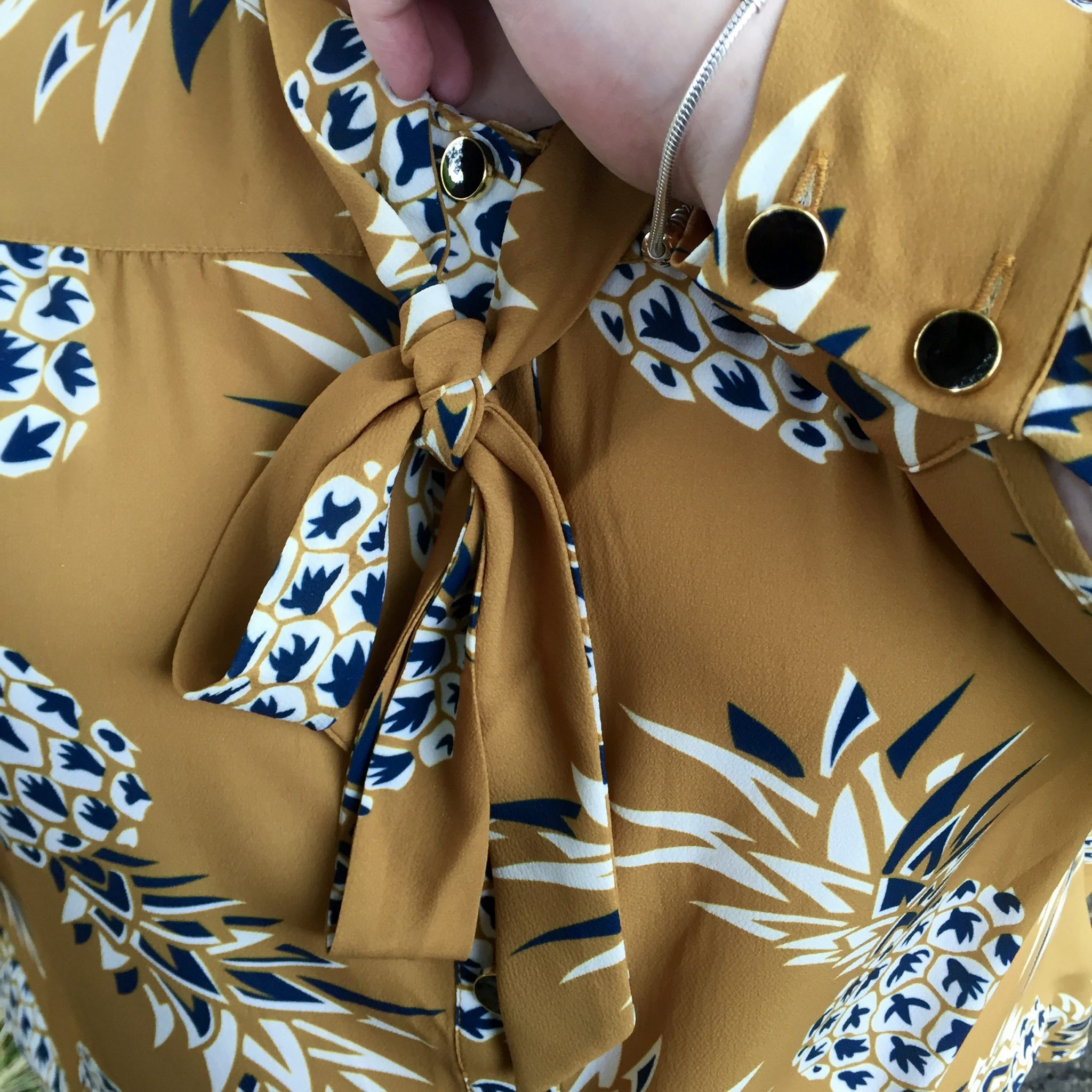 Premium Plus Size Fashion - Plus Size Pineapple Shirt - Pretty Big Butterflies