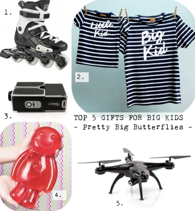 Top 5 Gifts For Big Kids