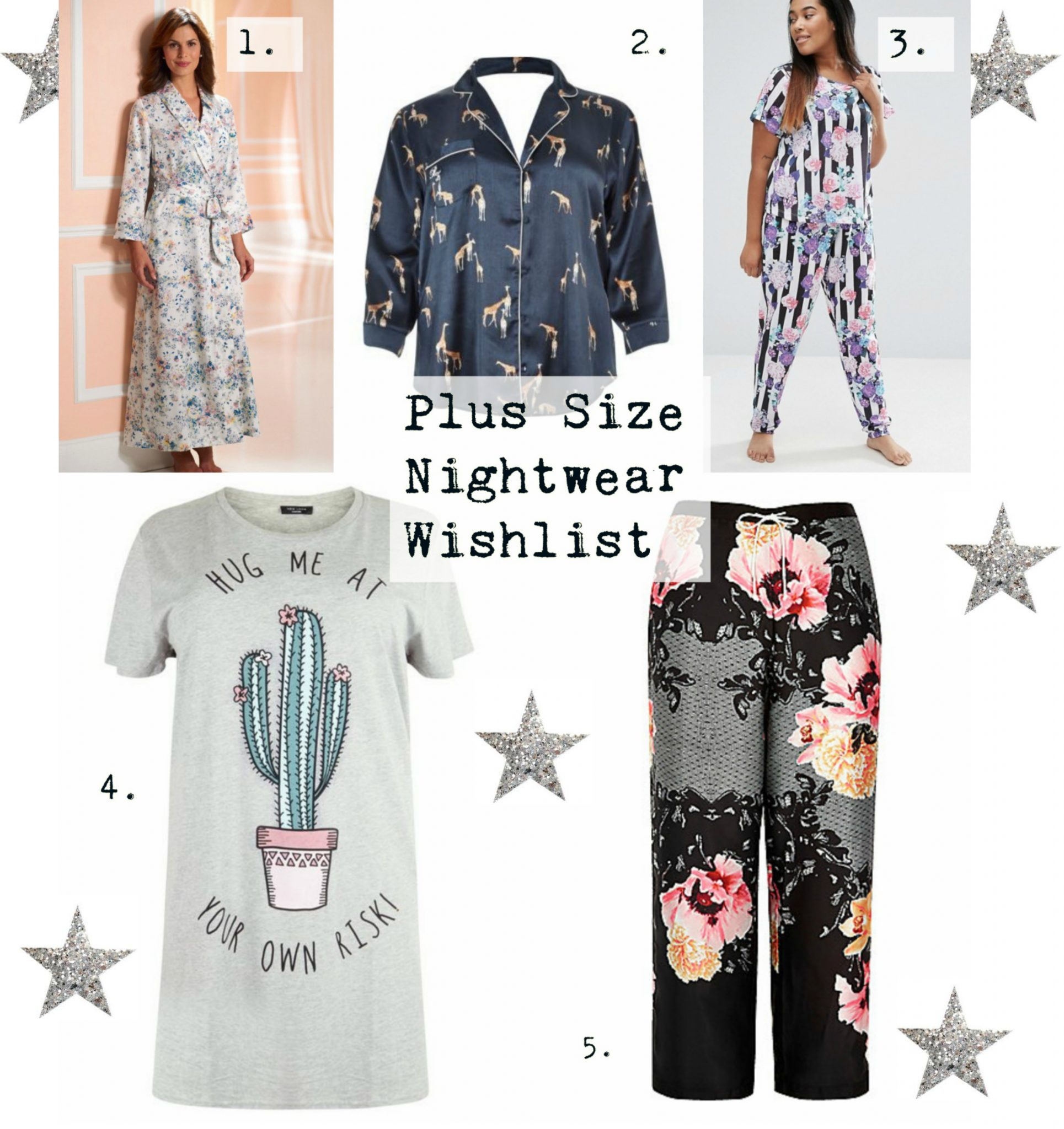 Plus Size Nightwear Wishlist