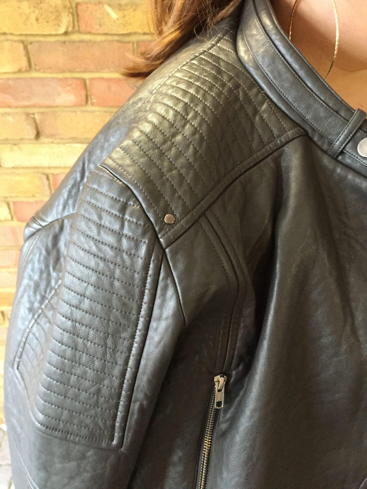 ilvi Leather biker jacket - review - plus size - Pretty big Butterflies