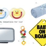 5 Car Essentials For Your Baby