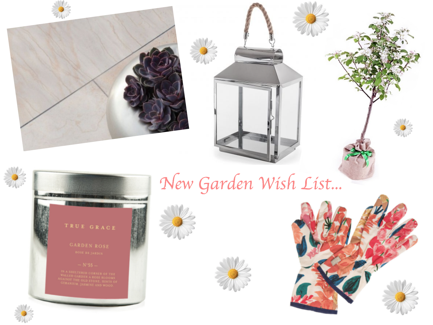 New Garden Wish List