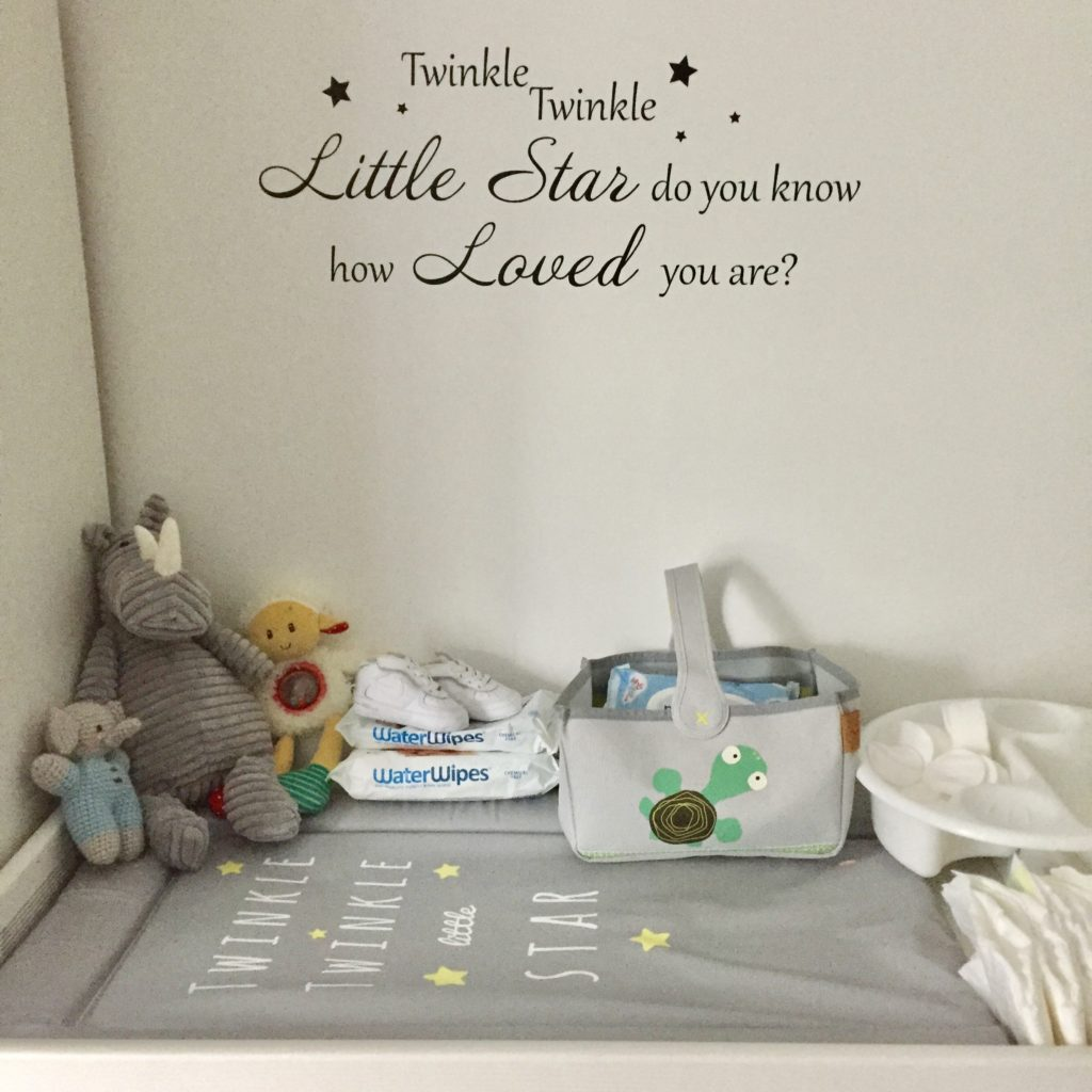 Venosure Twinkle Twinkle Little Star Changing Mat - Review