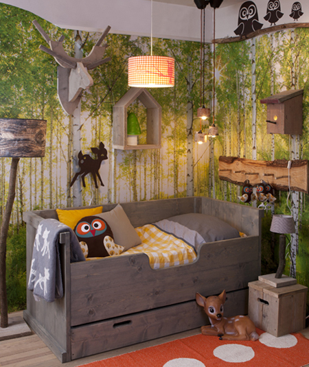 How To Create A Forest Themed Bedroom For Your Child