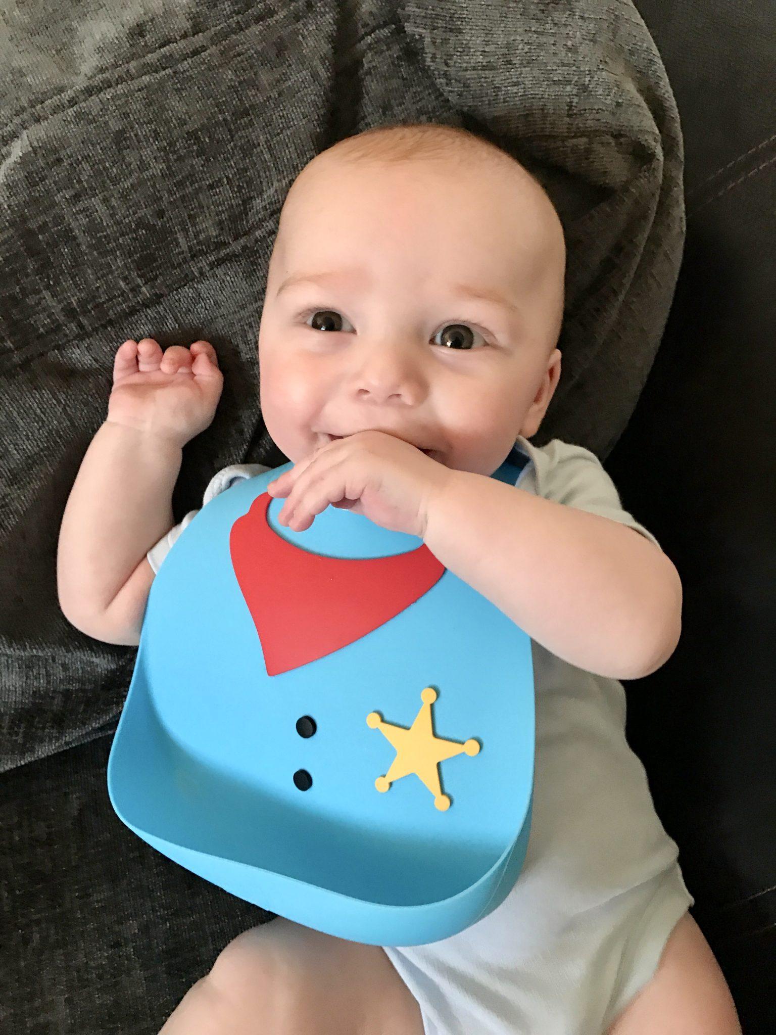 Cheeky Rascals Make My Day Baby Bib Review