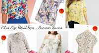 Plus Size Floral Tops For Summer