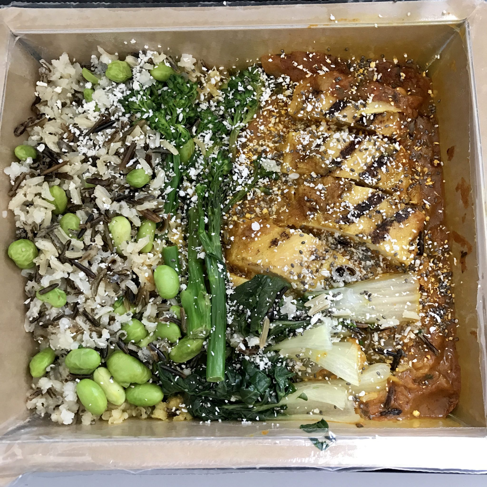 Chicken katsu curry -Everdine - clean Eating - pretty big butterflies