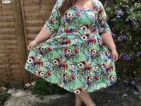 Lady Voluptuous Plus Size Vintage Dresses - Pretty Big Butterflies