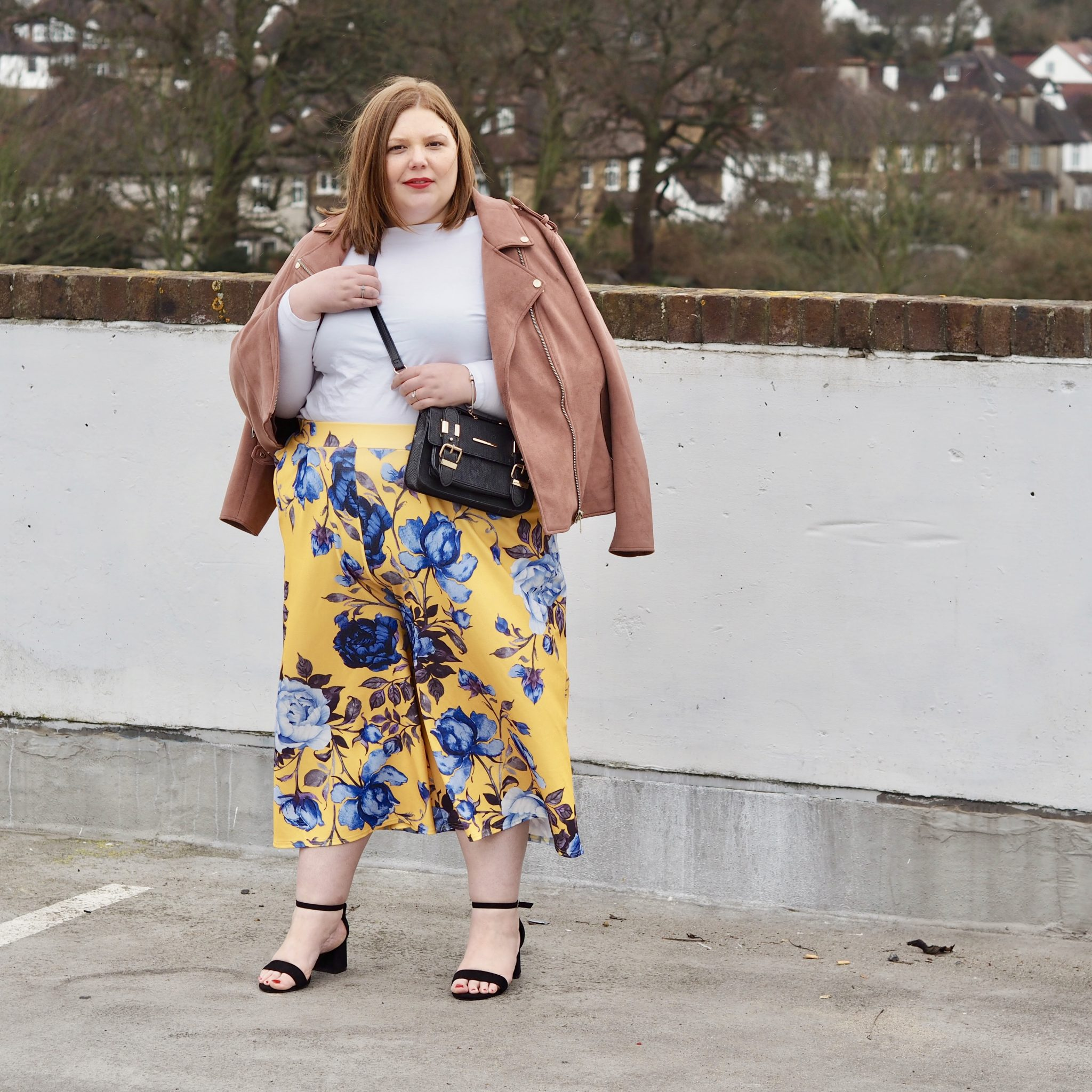 The Alternative To A Summer Dress - Floral Culottes